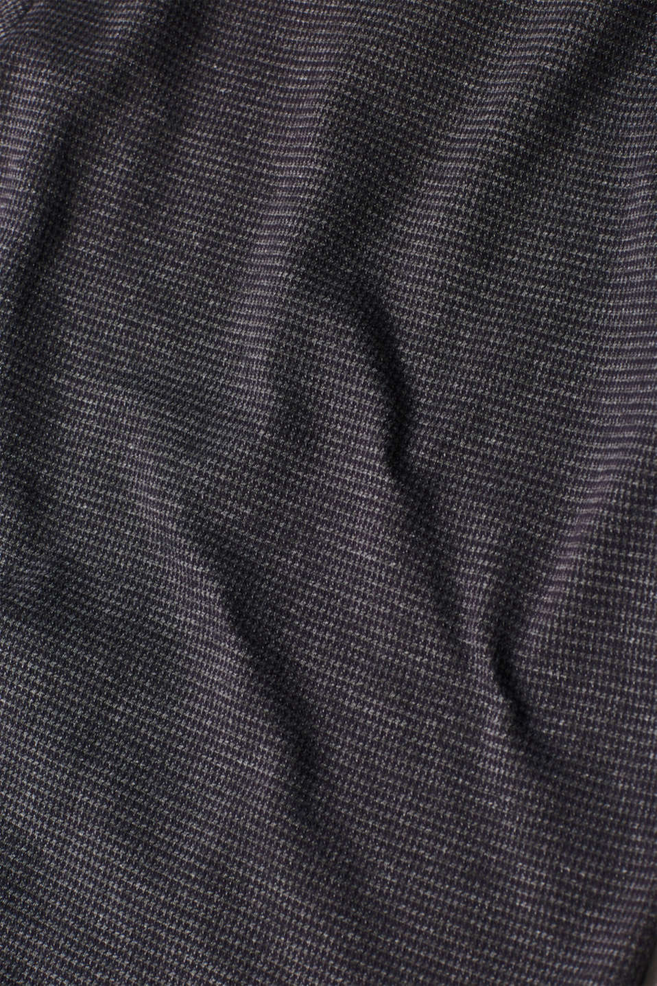 Blouse top with stretch, GREY BLUE, detail image number 4
