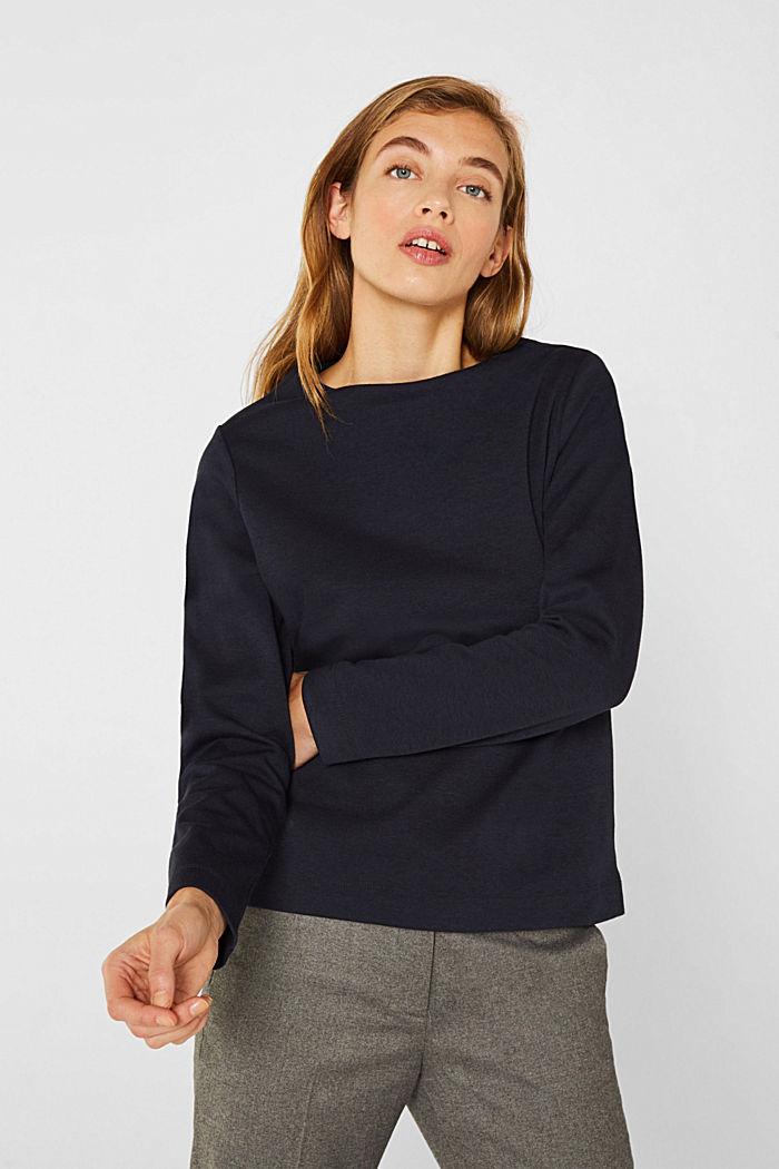 Kastiges Jersey-Stretch-Shirt