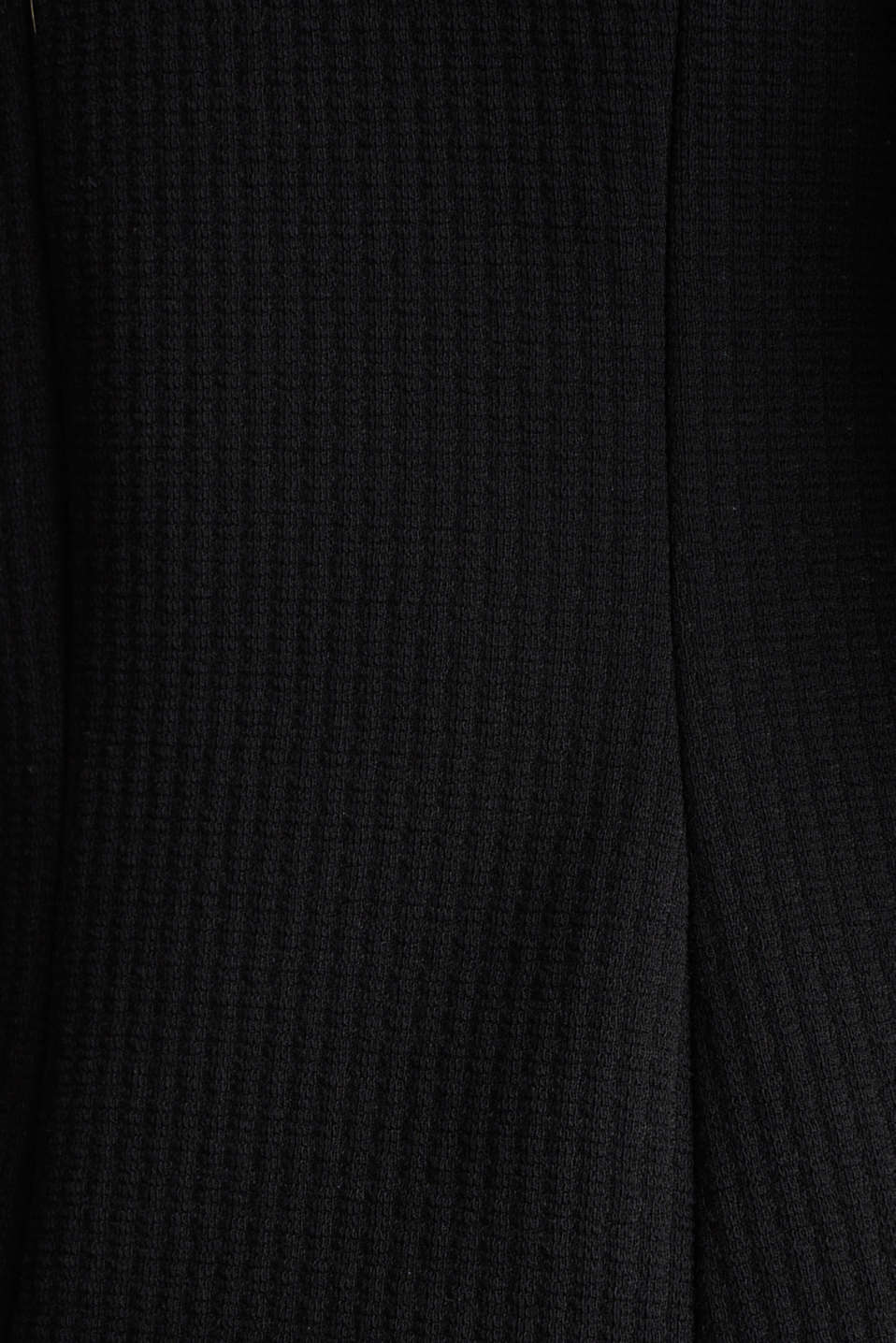 Textured stretch jersey blazer, BLACK, detail image number 4