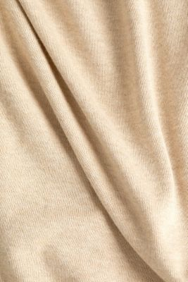 Jumper with organic cotton, BEIGE 5, detail