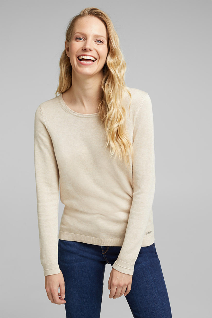 Jumper with organic cotton