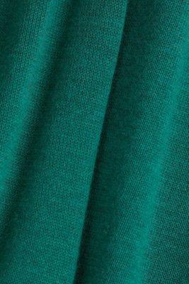 Jumper with organic cotton, DARK GREEN 5, detail