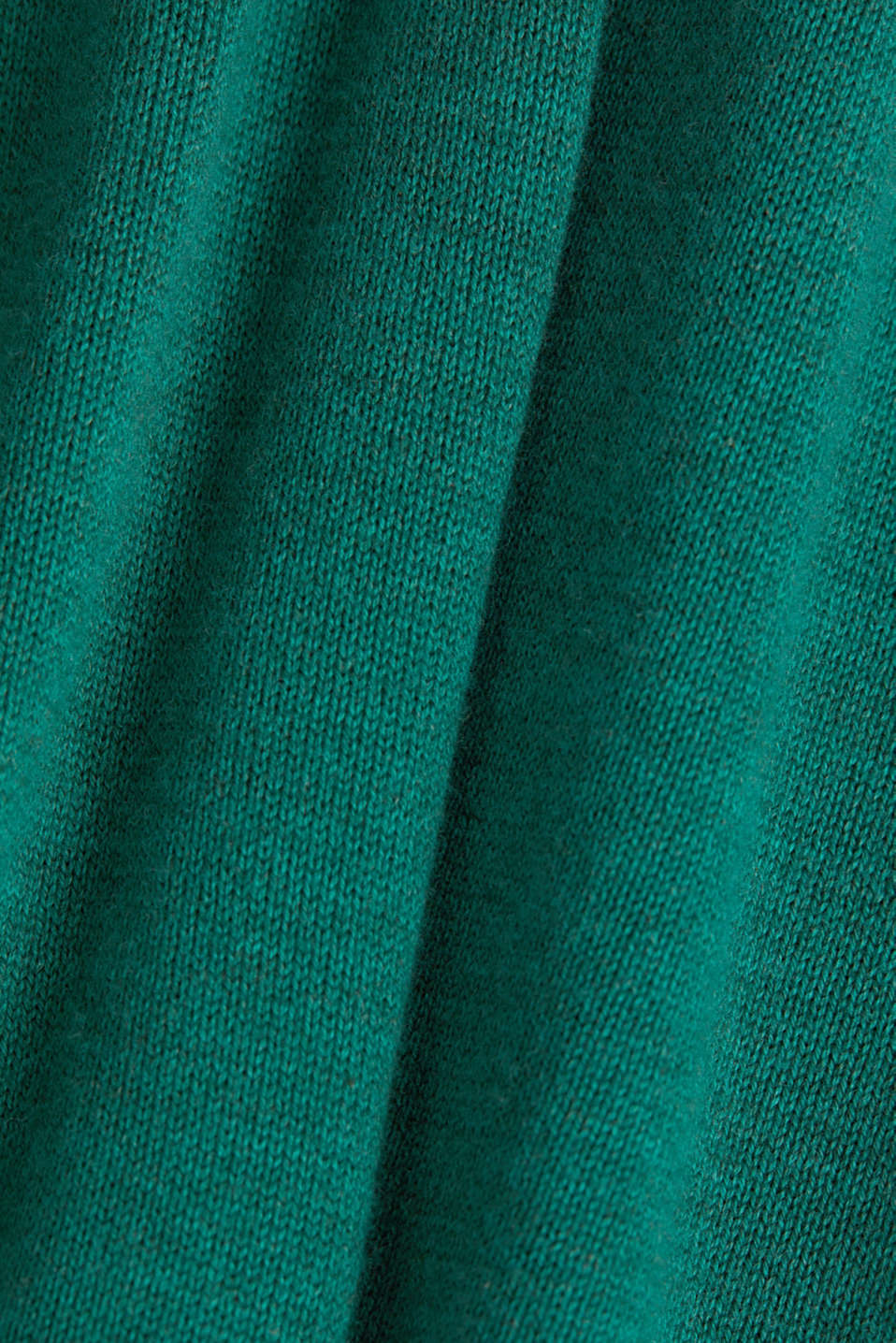 Jumper with organic cotton, DARK GREEN 5, detail image number 4