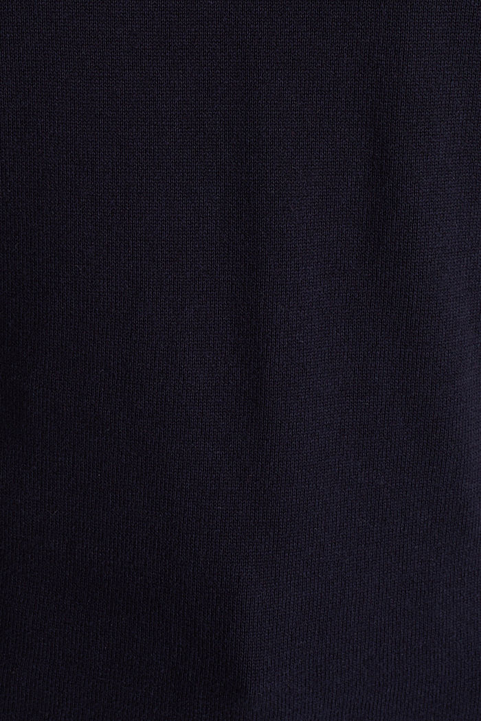 Pullover mit Organic Cotton, NAVY, detail image number 3