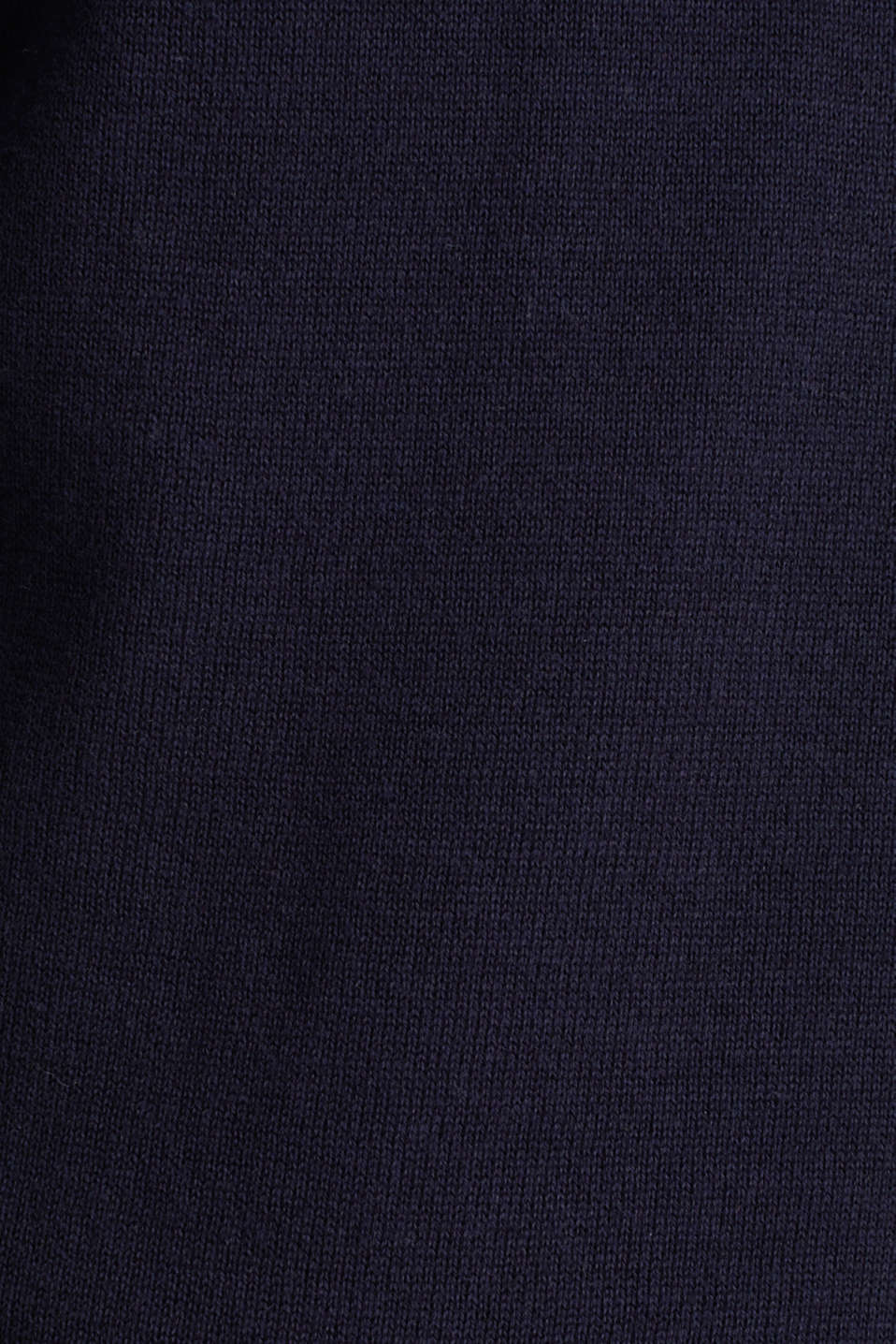 Cardigan with organic cotton, NAVY, detail image number 4