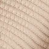 Basic jumper with a ribbed texture, BEIGE, swatch