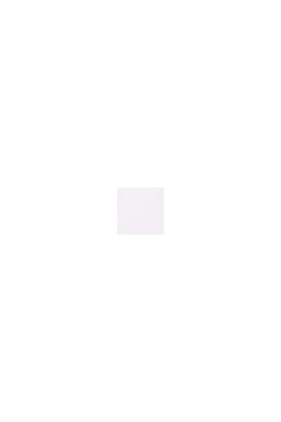 Rundhals-T-Shirt aus Bio-Baumwolle/Stretch, WHITE, swatch