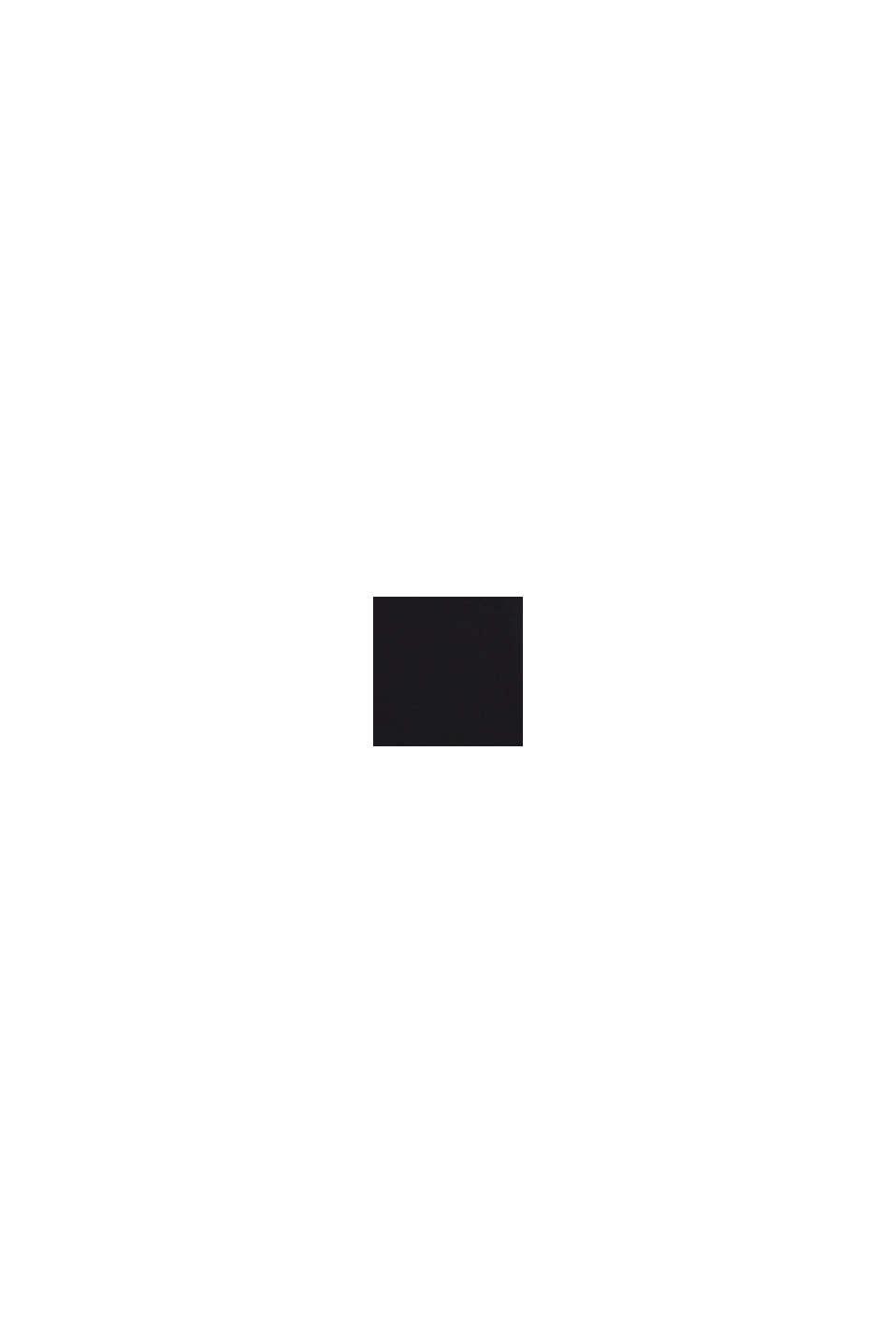 V-Neck-Longsleeve aus Bio-Baumwolle/Stretch, BLACK, swatch