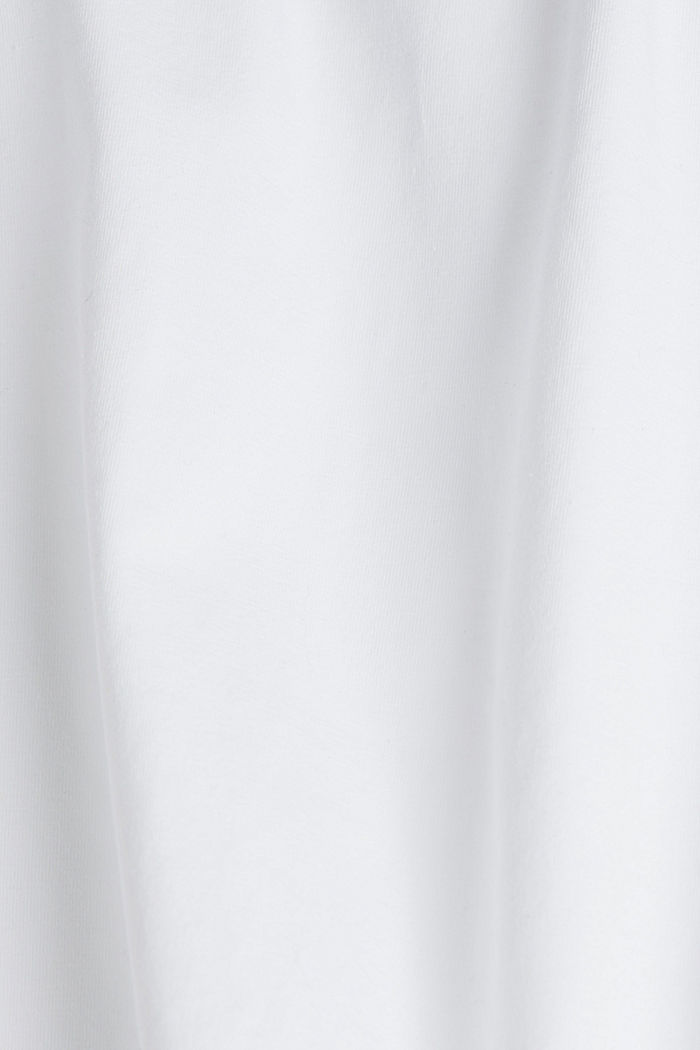 Stretch-Longsleeve mit Organic Cotton, WHITE, detail image number 4