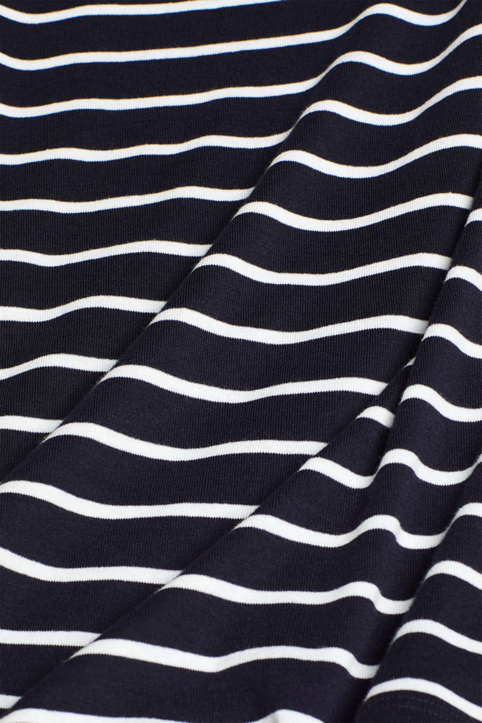 Long sleeve top made of 100% cotton, NAVY, detail image number 4