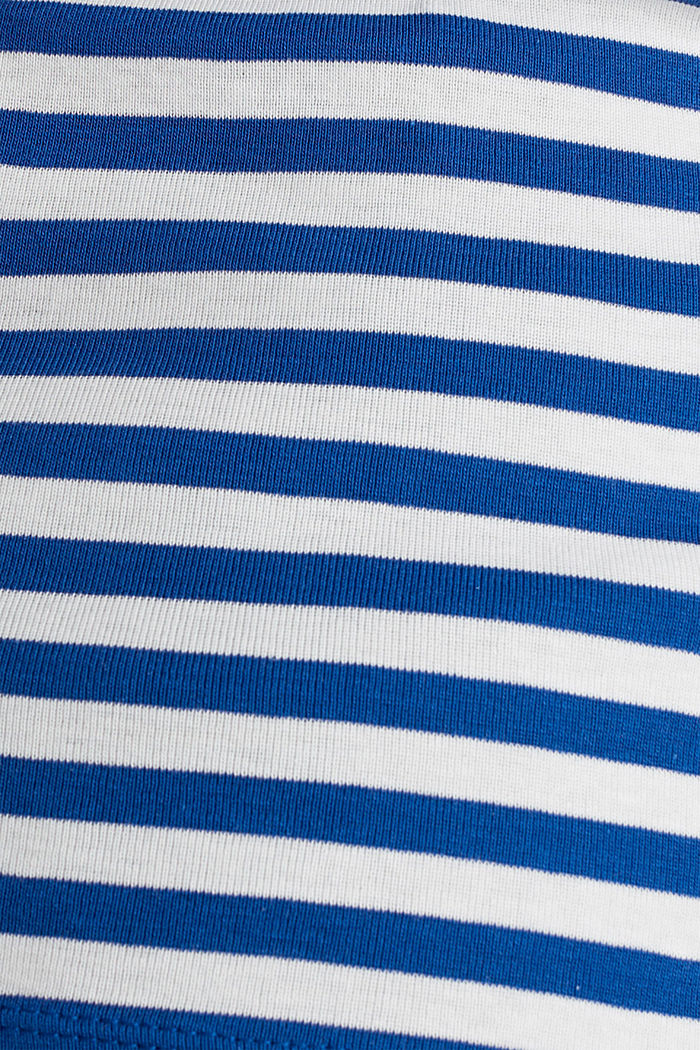 U-Boot-Shirt, 100% Baumwolle, BRIGHT BLUE, detail image number 4