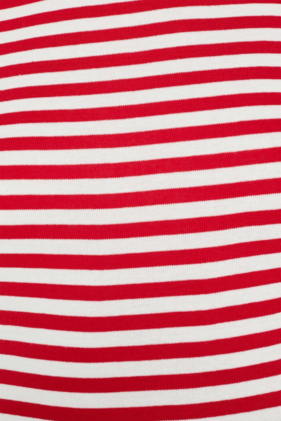 T-Shirts, DARK RED, detail image number 4