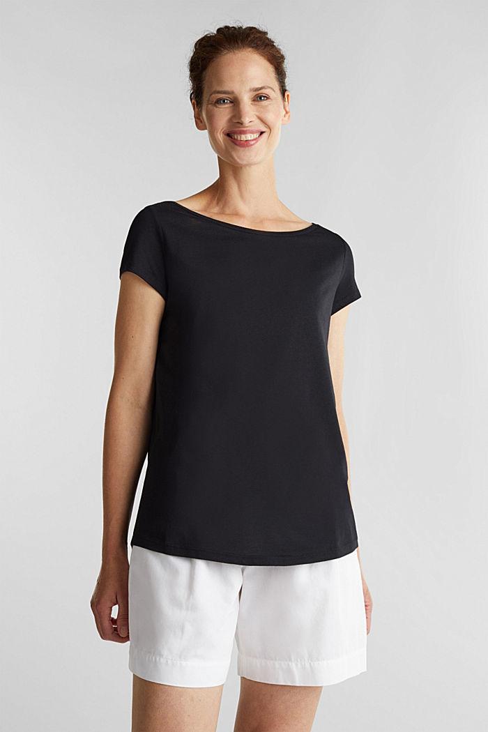 T-Shirt aus Bio-Baumwolle und Modal