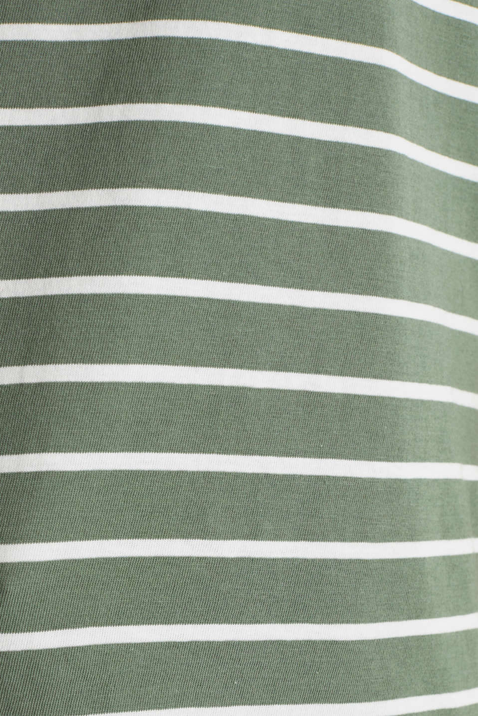 T-Shirts, KHAKI GREEN 4, detail image number 4