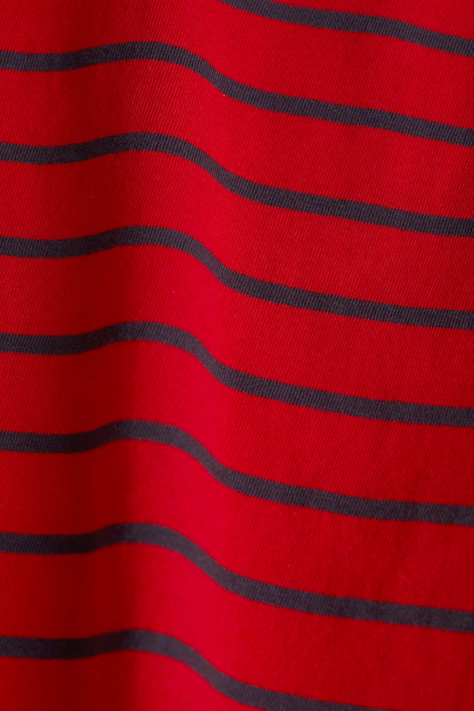 T-shirt with stripes, 100% cotton, DARK RED, detail image number 4