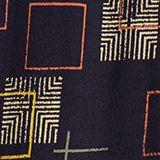 Longsleeve met print en elastiek, NAVY, swatch