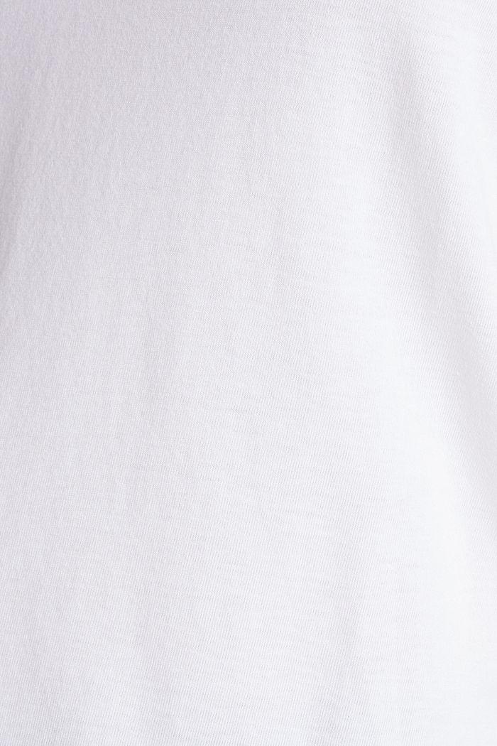 2er-Pack: T-Shirts aus Baumwoll-Mix, WHITE, detail image number 3