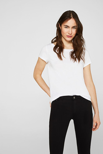 Double pack of T-shirts made of cotton and modal