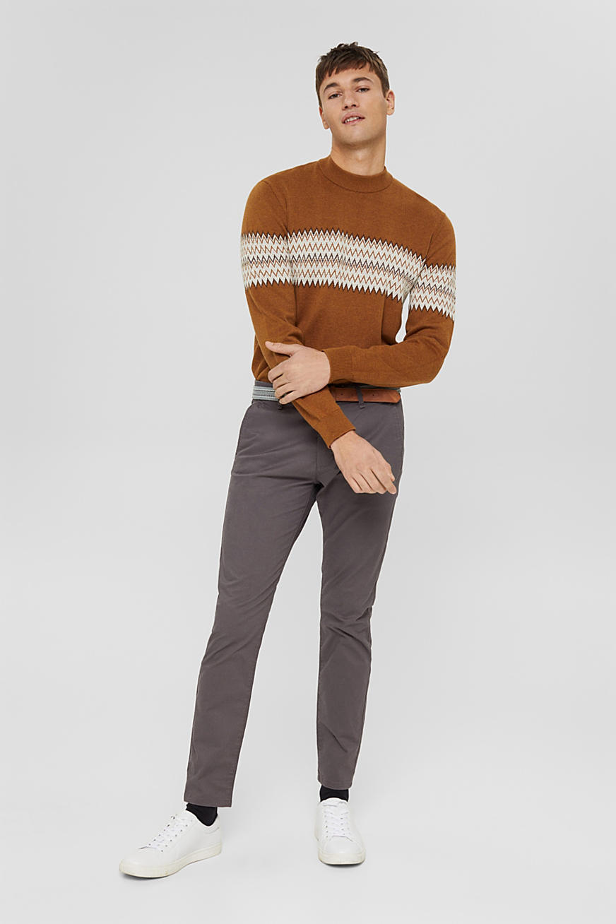 Chino stretch con cintura