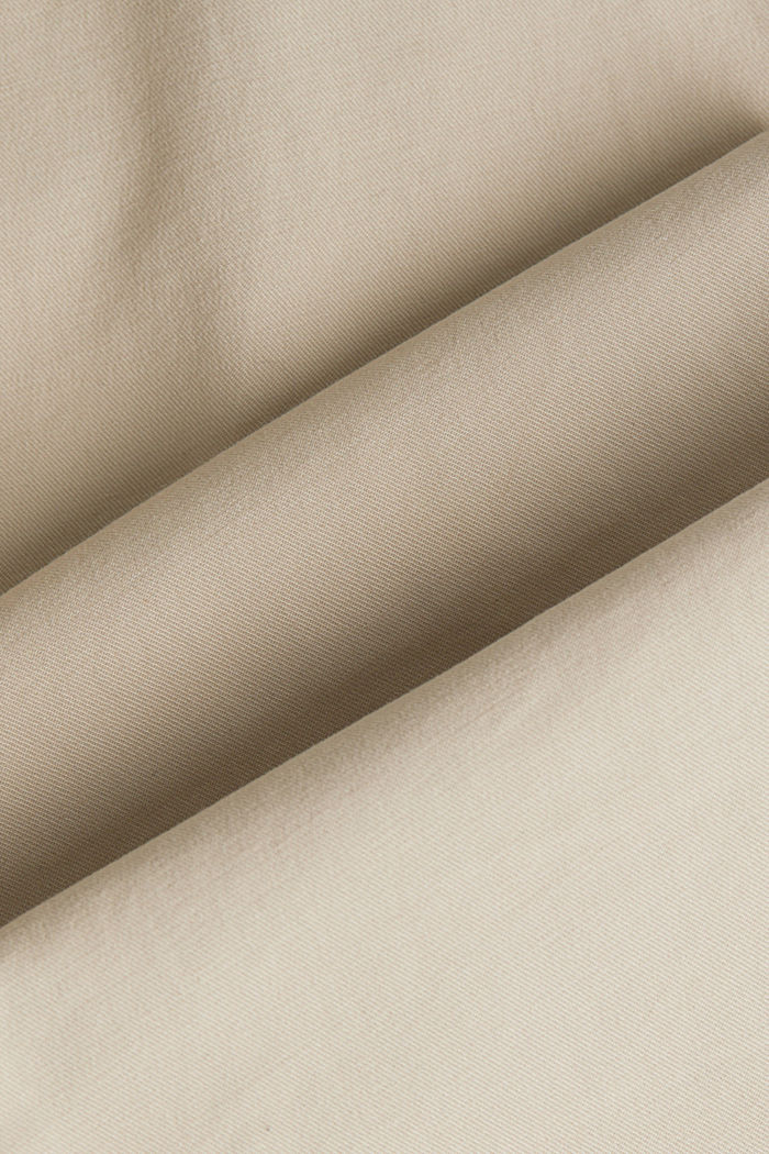 Stretch-Chino mit Gürtel, LIGHT BEIGE, detail image number 4