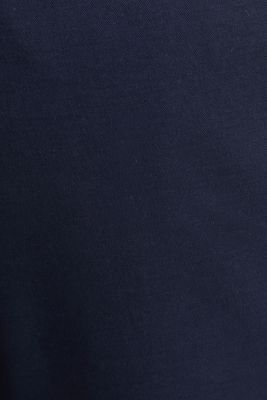 Stretch chinos with a belt, NAVY, detail
