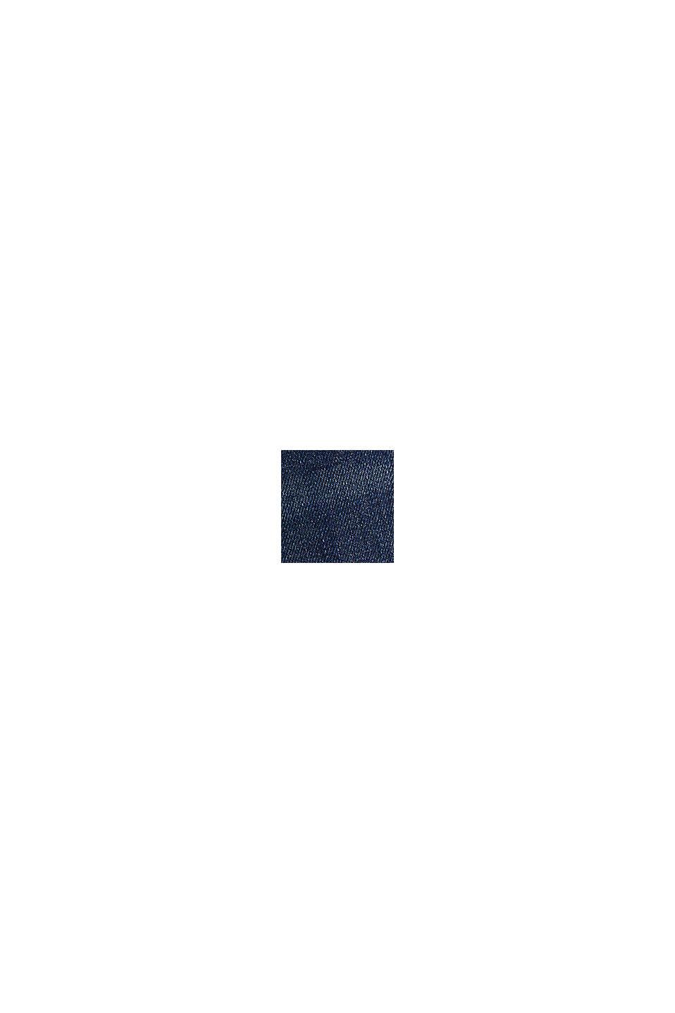 Superstretchiga jeans med skrynkeleffekter, BLUE DARK WASHED, swatch
