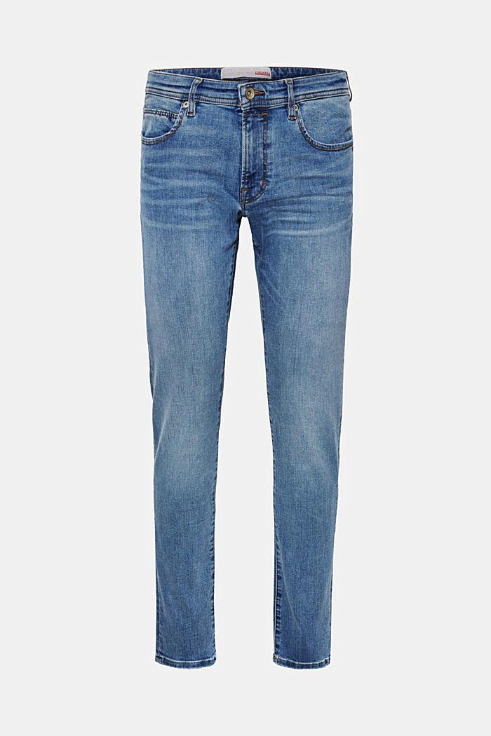 Superstretch-Jeans mit Wrinkle-Effekt