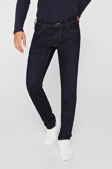 Rinse wash stretch jeans