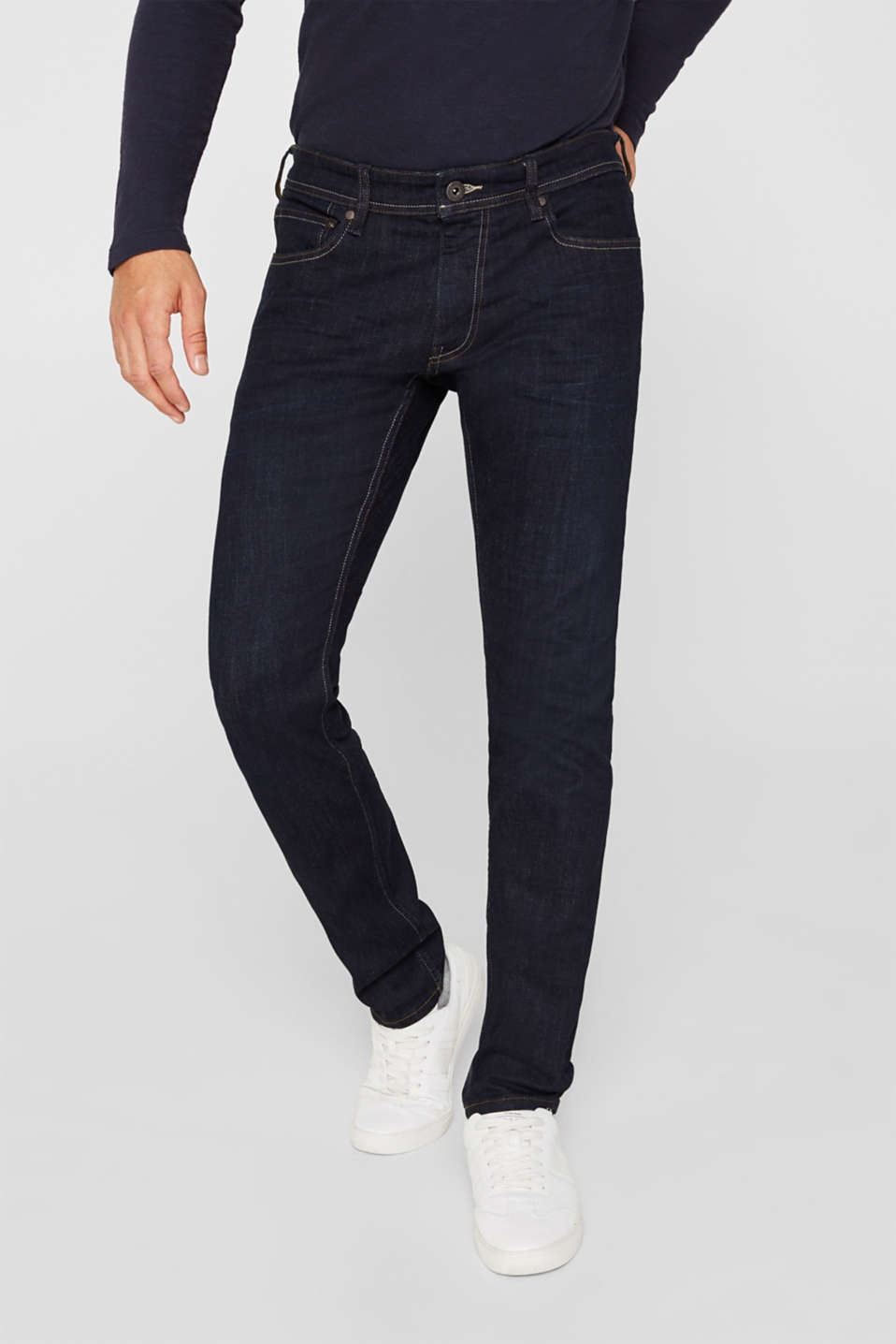 Pants denim Slim fit, BLUE RINSE, detail image number 0