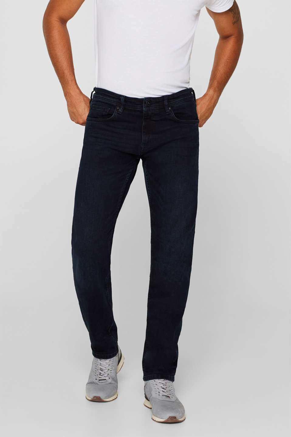 Esprit - Stretch-Jeans mit Washed Out-Effekt
