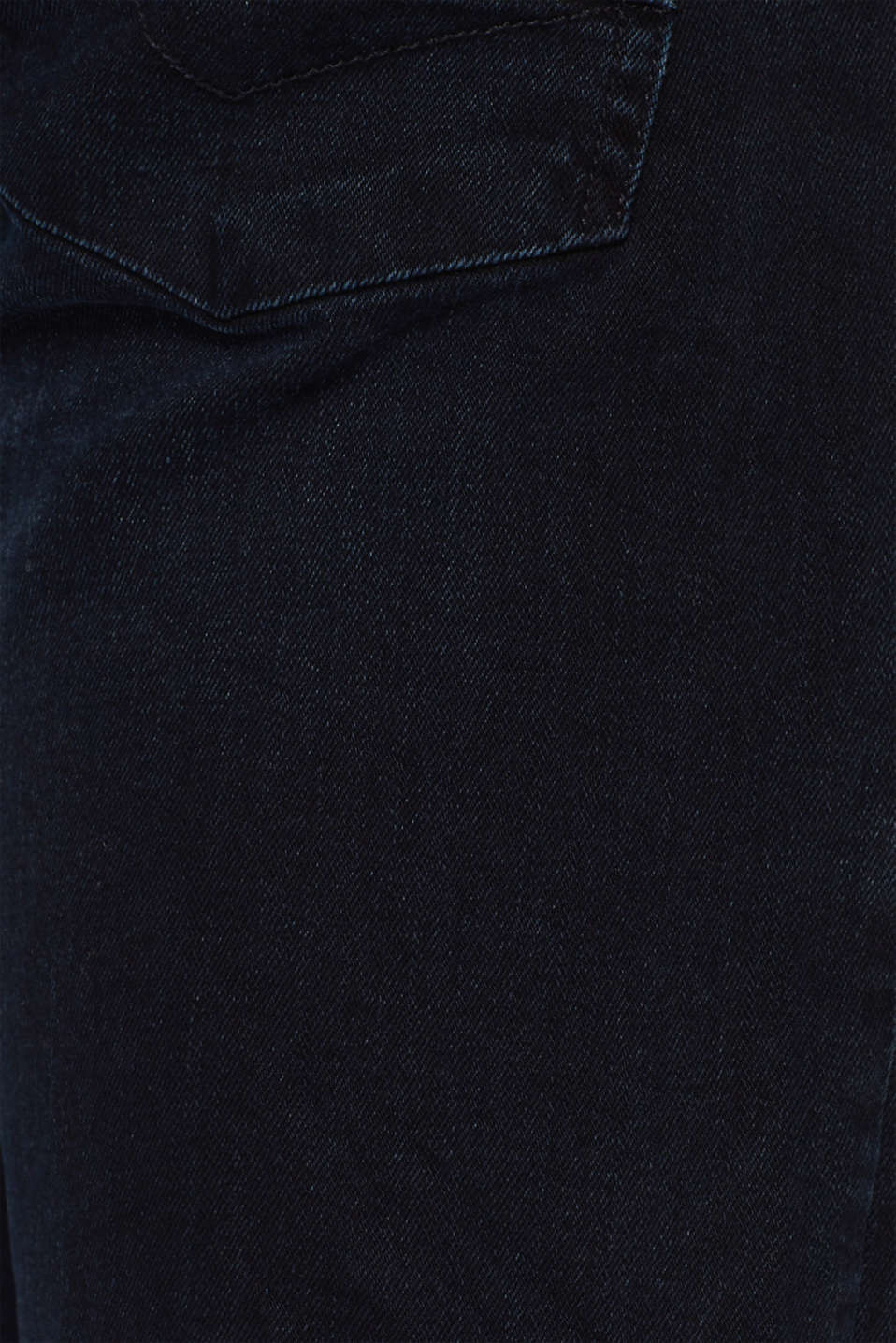 Stretch jeans with washed-out effects, BLUE DARK WASH, detail image number 4