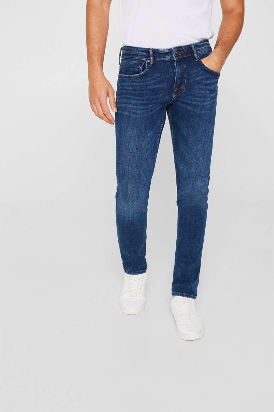 Pants denim Slim fit, BLUE MEDIUM WASH, detail image number 0