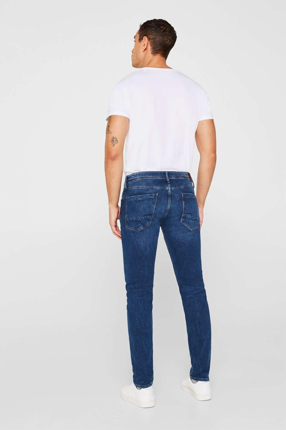 Pants denim Slim fit, BLUE MEDIUM WASH, detail image number 1