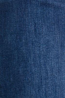 Vintage wash two-way stretch jeans