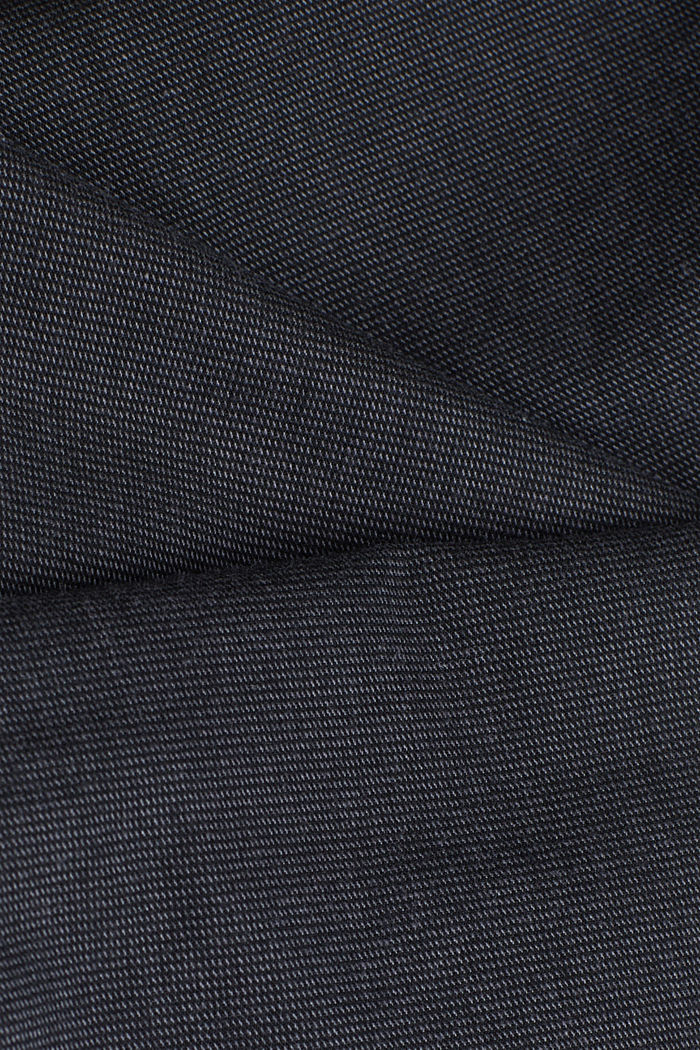 Textured brushed trousers, ANTHRACITE, detail image number 4