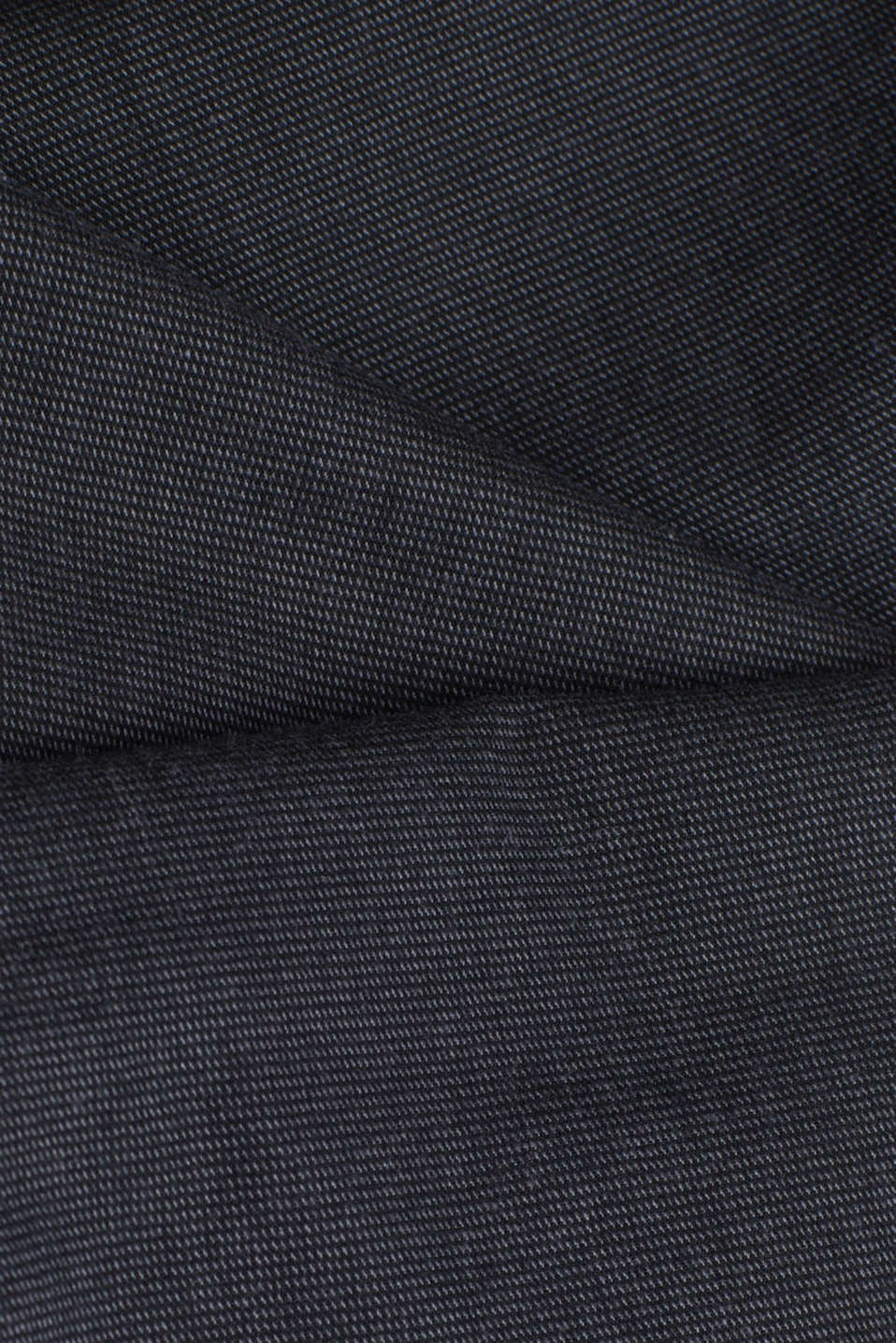 Stretch twill trousers with a belt, ANTHRACITE, detail image number 3