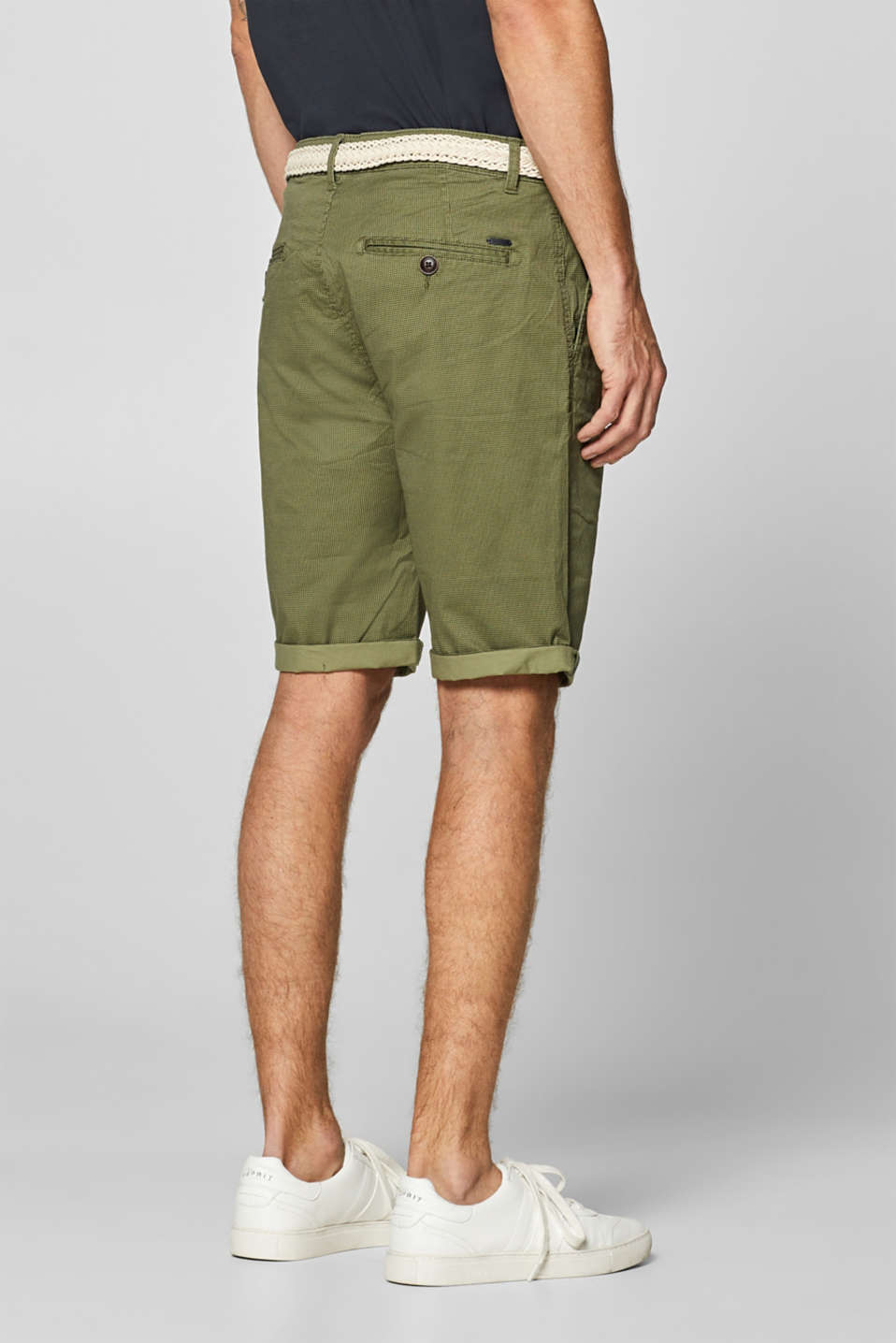 Shorts woven, OLIVE, detail image number 3