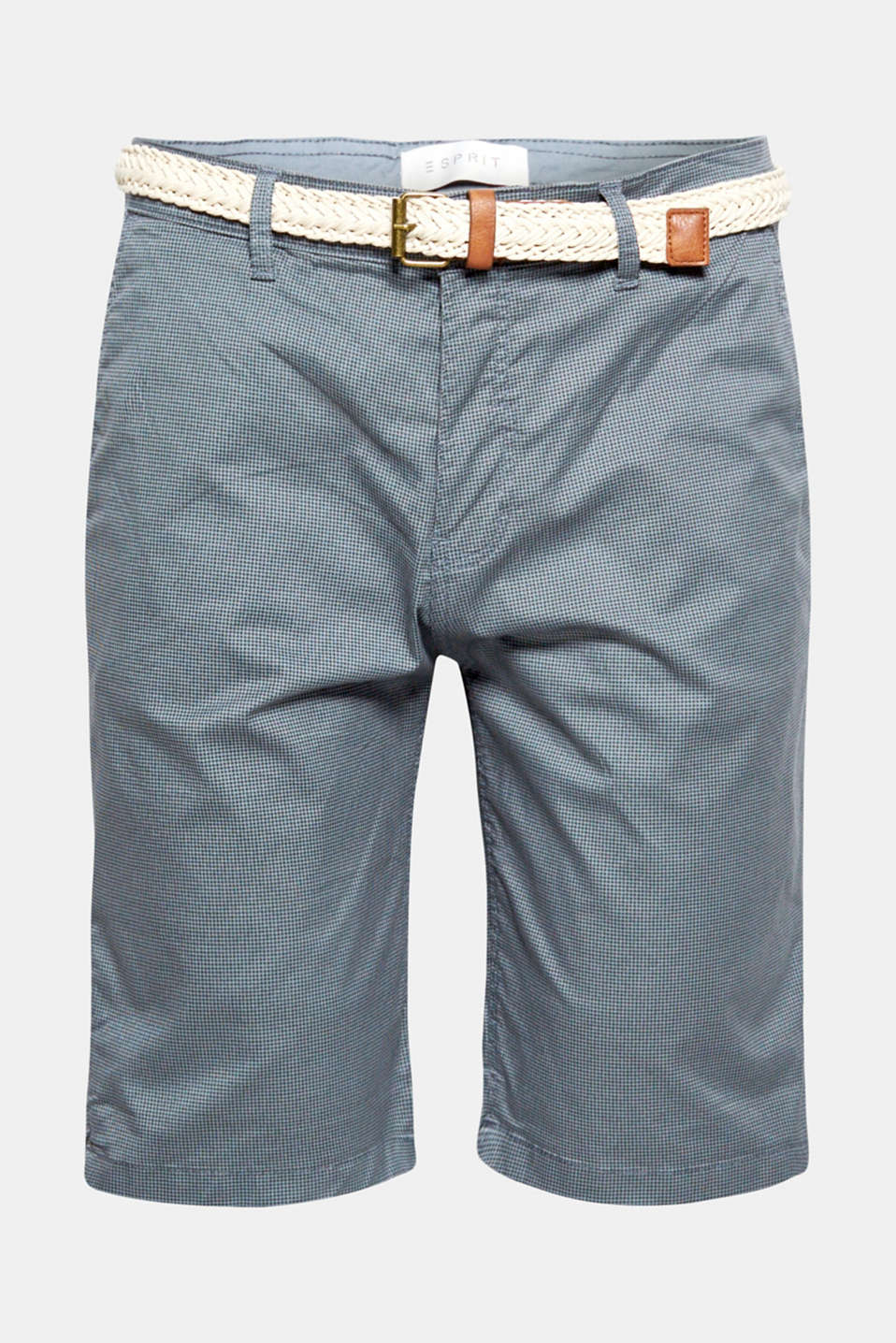 Esprit - Cotton shorts with organic cotton