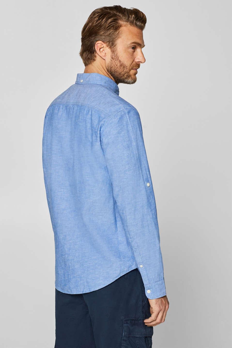 Shirts woven Regular fit, LIGHT BLUE, detail image number 3