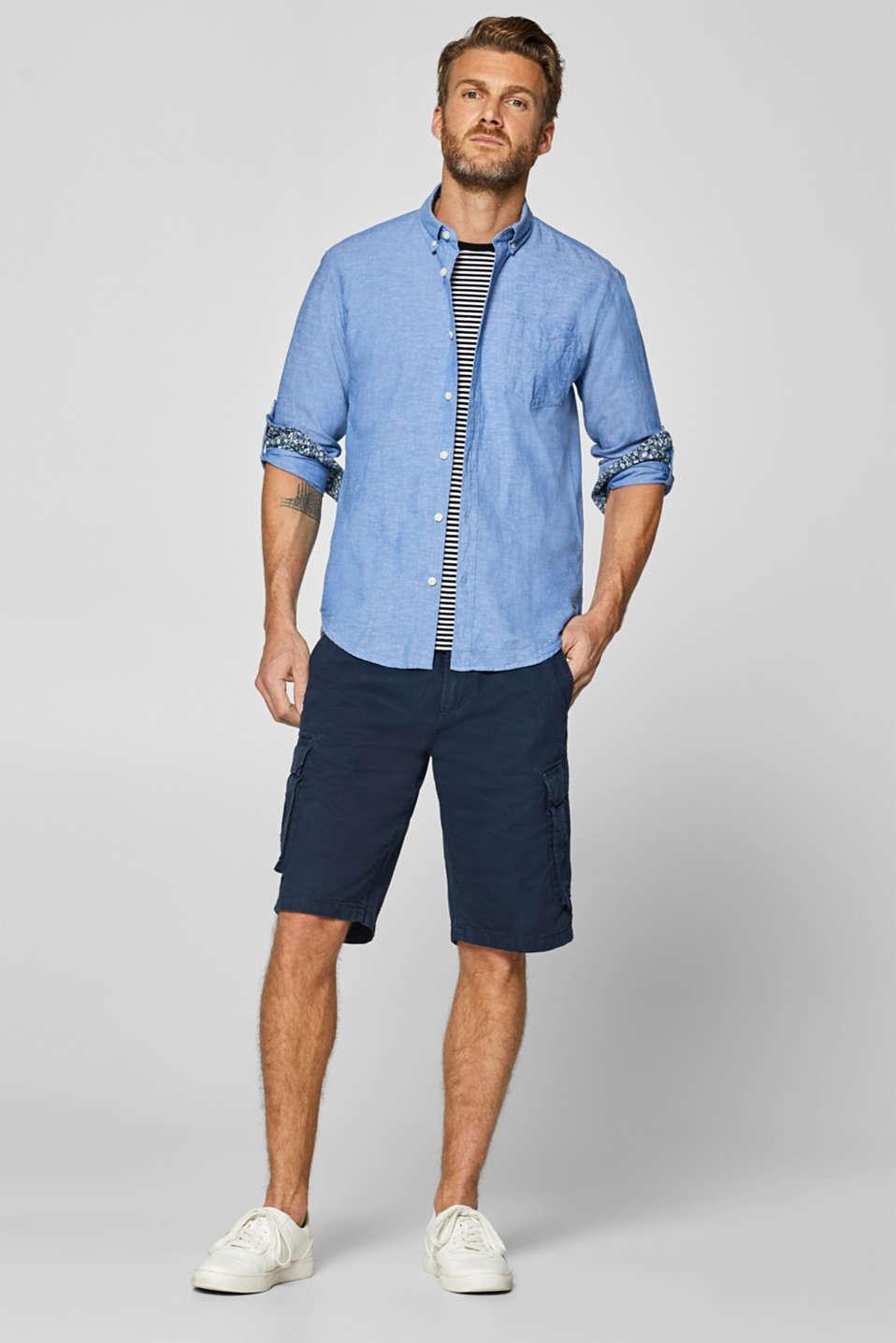 Shirts woven Regular fit, LIGHT BLUE, detail image number 1