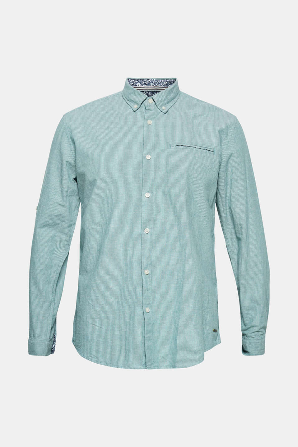 Shirts woven Regular fit, GREEN, detail image number 6