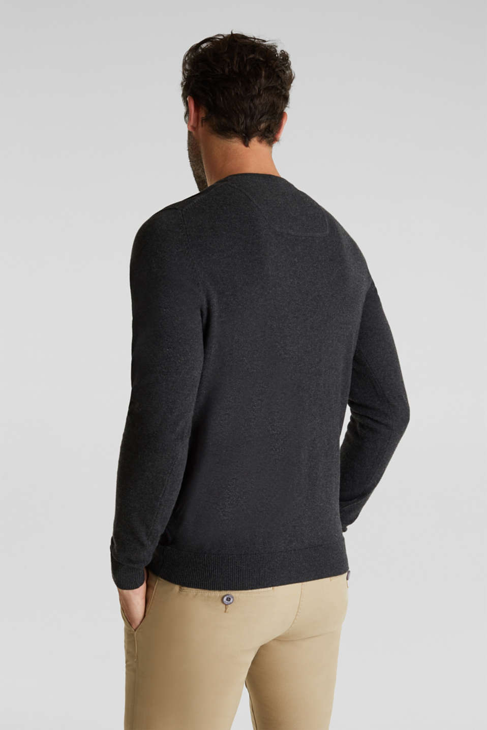 Sweaters, ANTHRACITE, detail image number 3