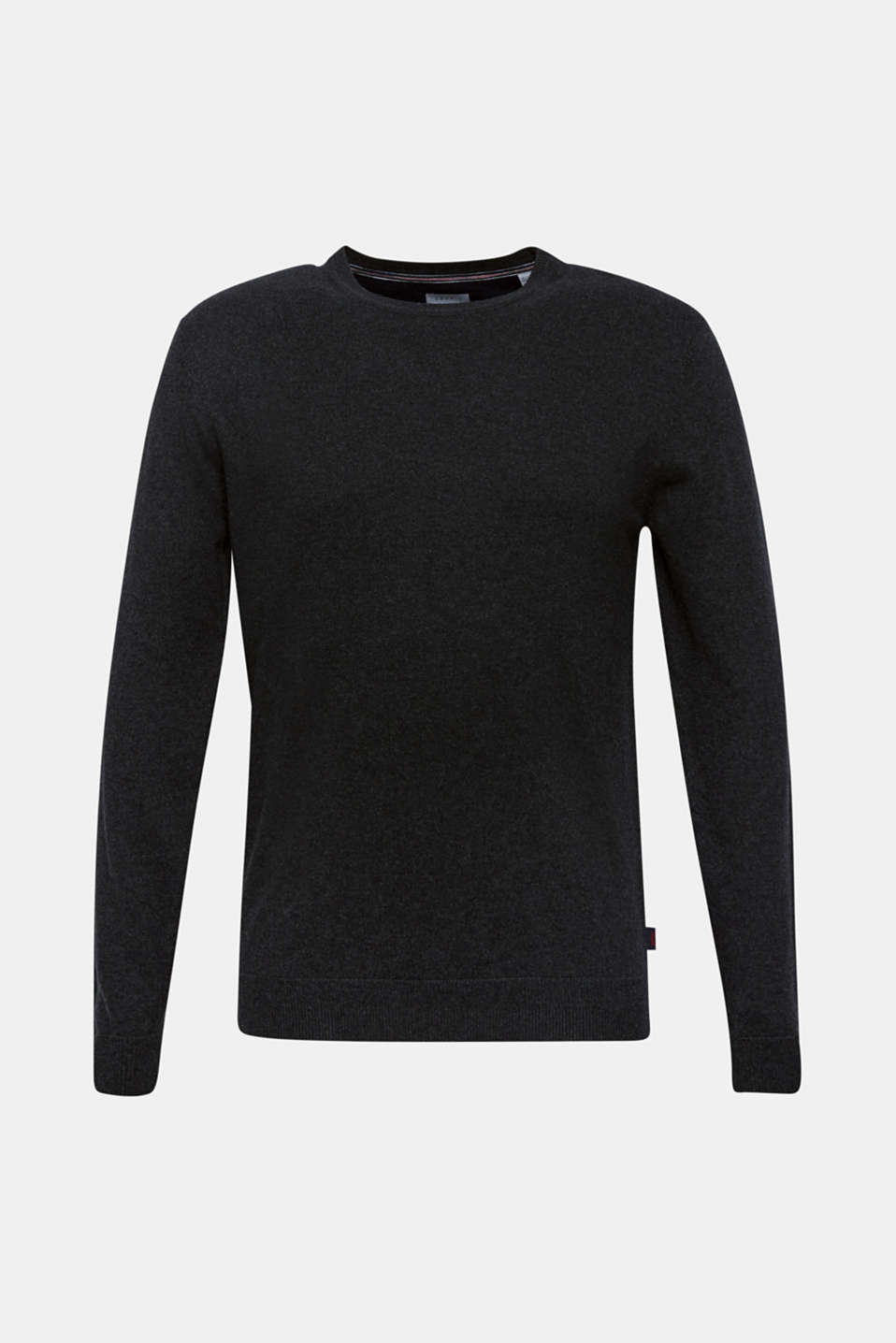 Sweaters, ANTHRACITE, detail image number 7