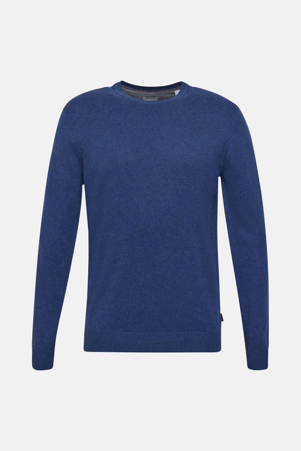 Sweaters, DARK BLUE, detail image number 6