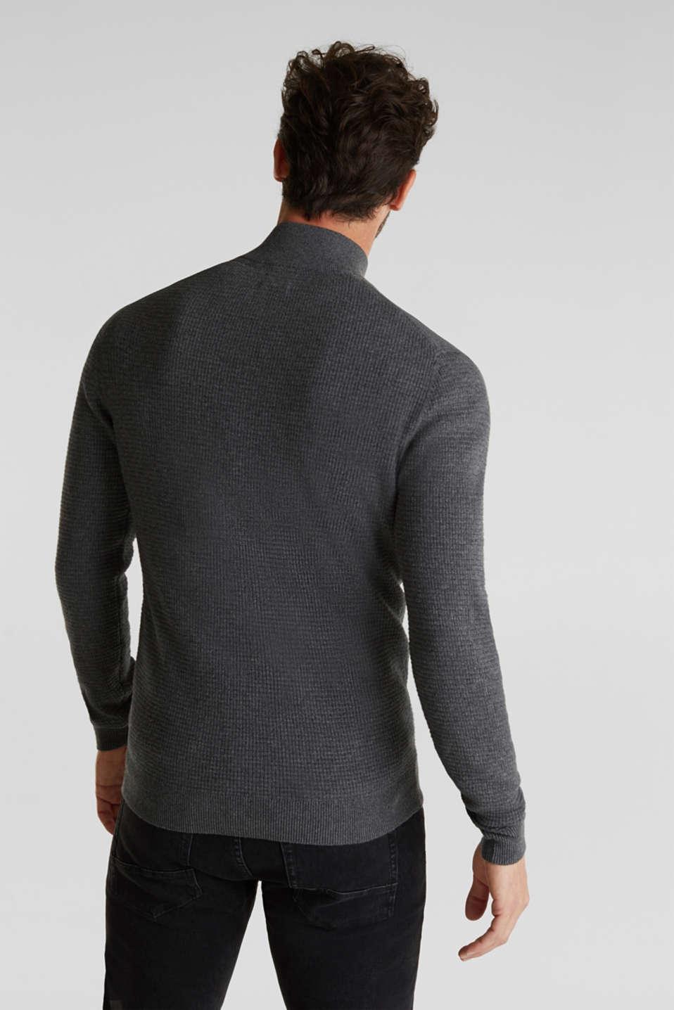 Sweaters, DARK GREY, detail image number 3