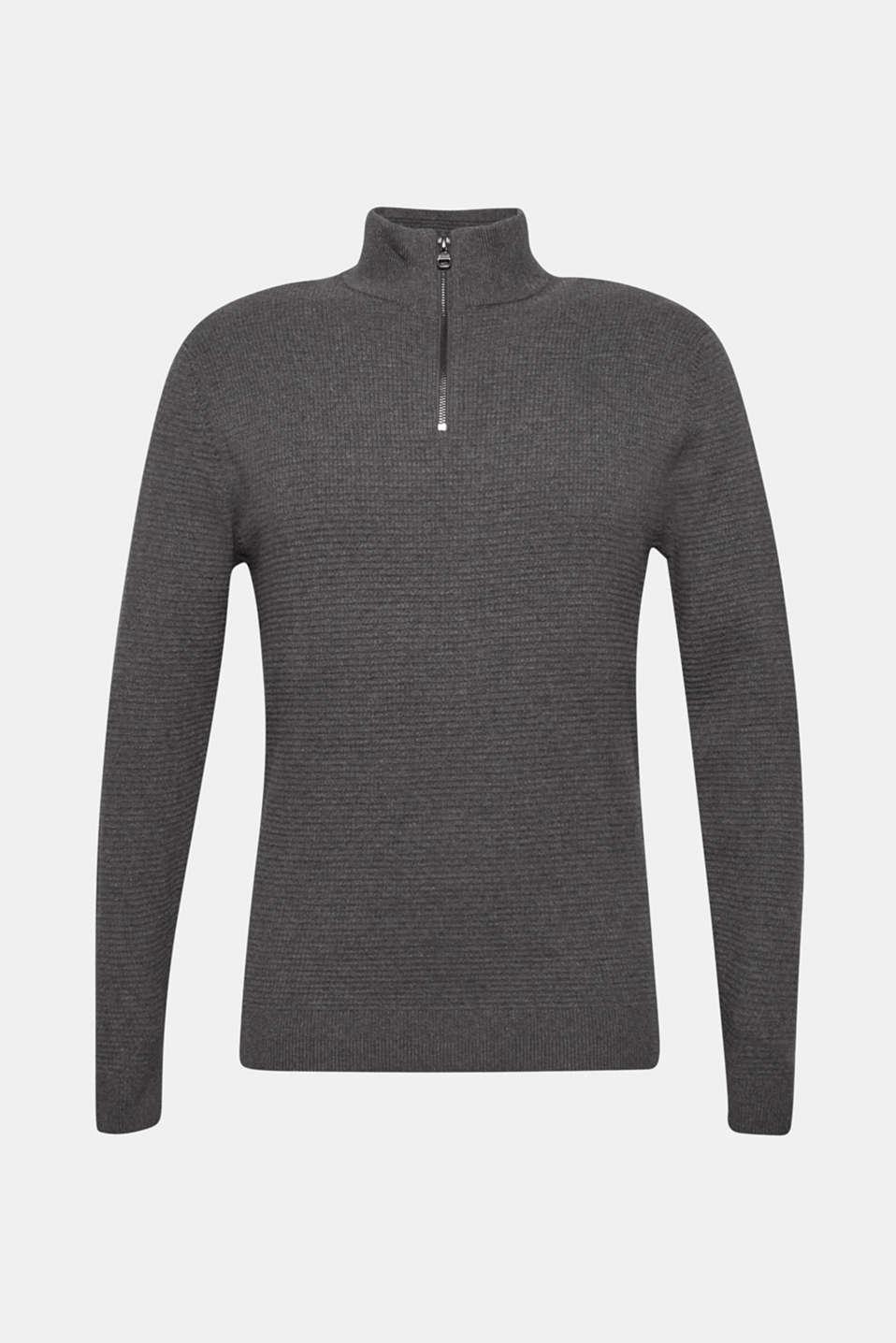 Sweaters, DARK GREY, detail image number 7