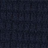 With cashmere: Textured knit jumper, NAVY, swatch
