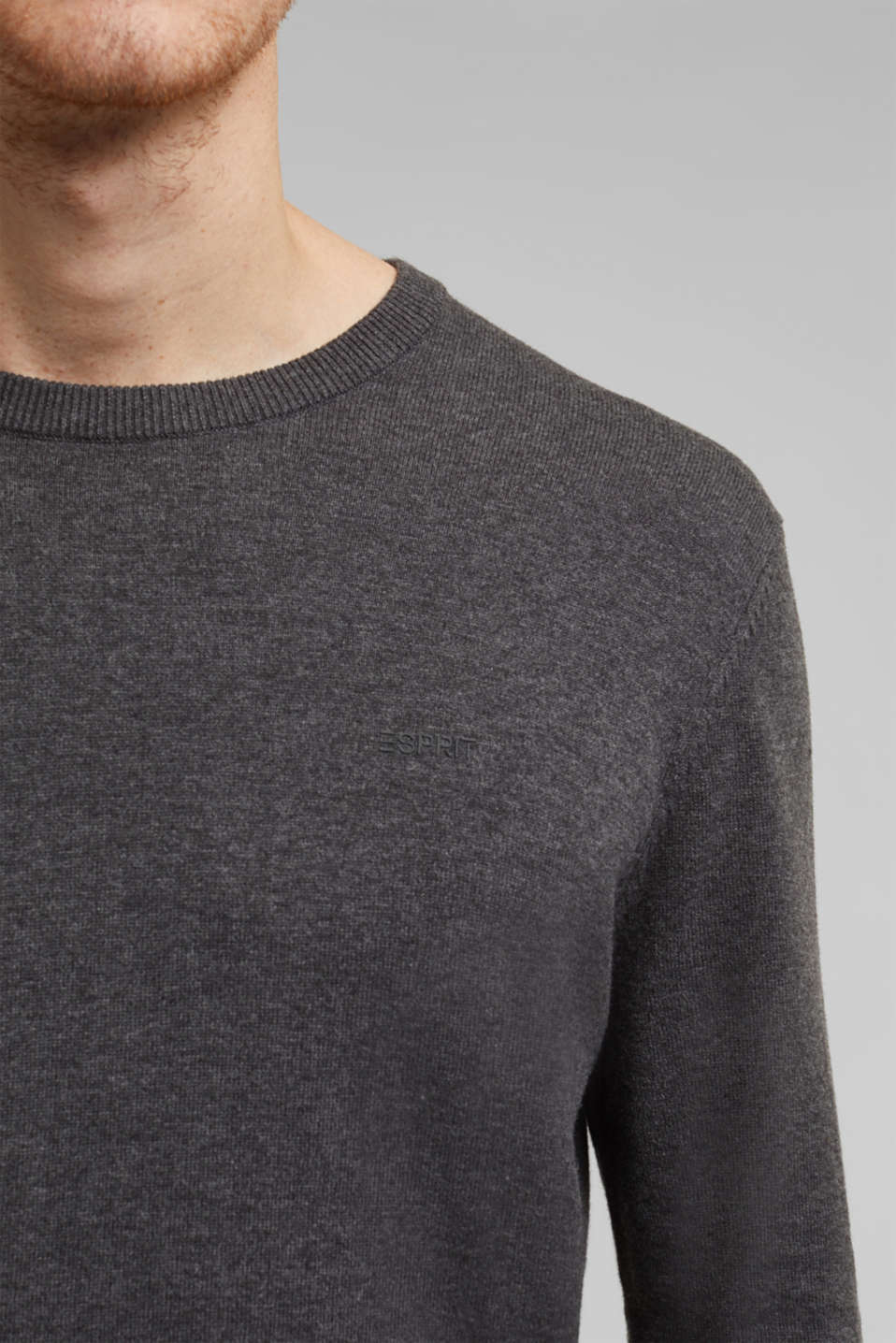Sweaters, DARK GREY, detail image number 2