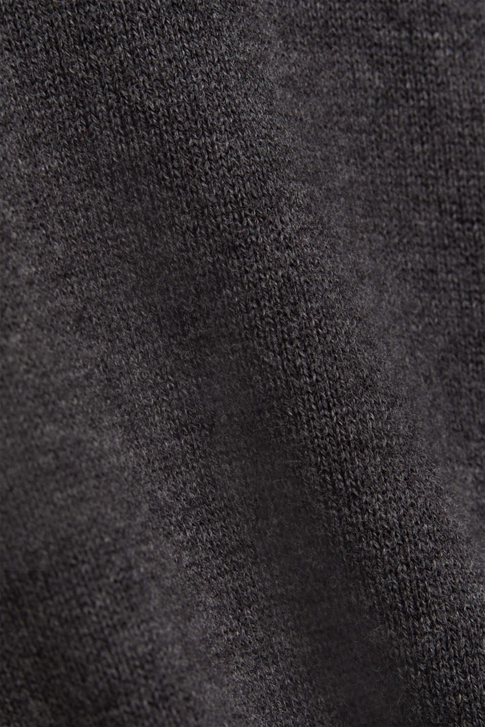 Sweaters, DARK GREY, detail image number 4