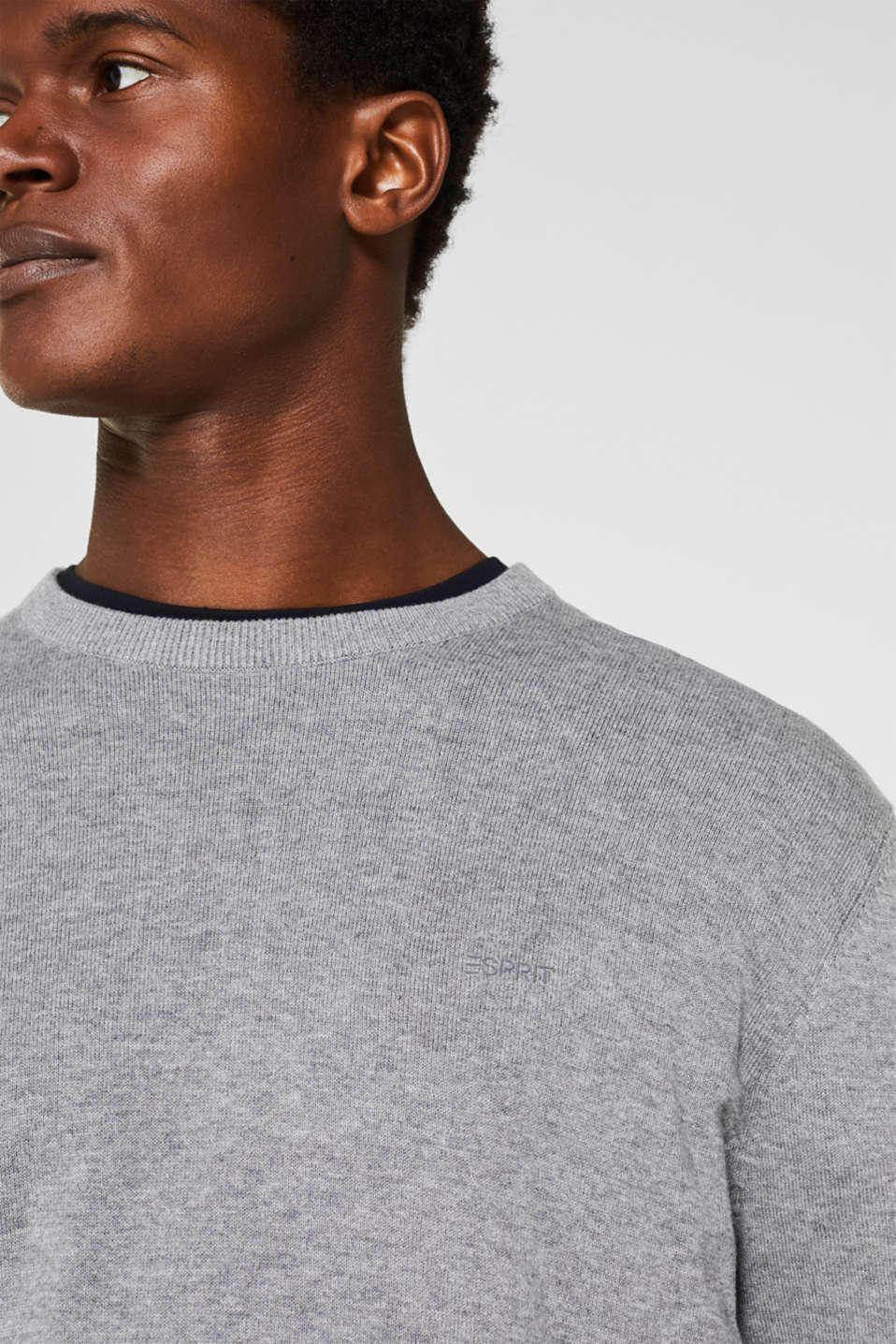 Sweaters, GREY, detail image number 2